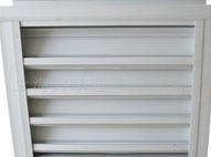 双层防雨铝合金百叶窗