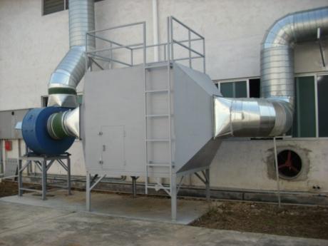 有机废气处理设备-YJFQCLSB-0010