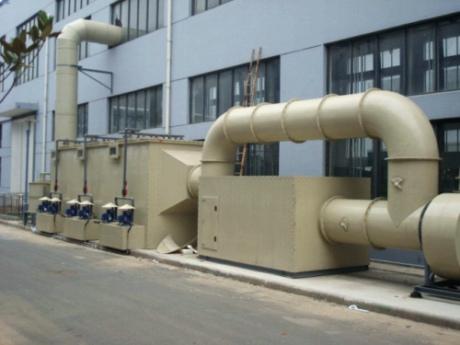 有机废气处理设备-YJFQCLSB-009