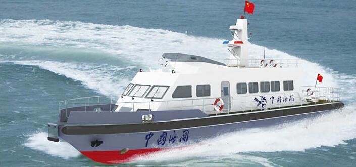 25米巡逻执法艇