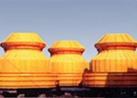 超低噪声圆型逆流式冷却塔