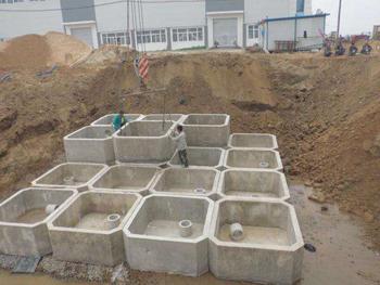 水泥化粪池